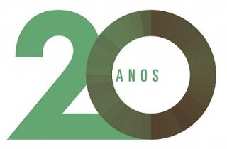Selo comemorativo - 20 anos