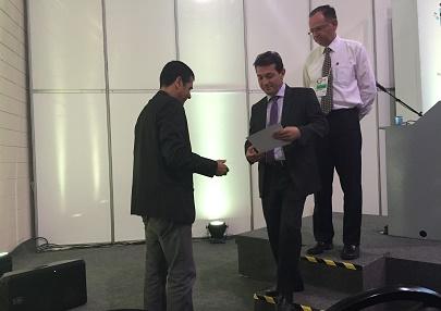 Afonso Pereira, Geraldo Simão (Klabin) e Marco França (CBC)
